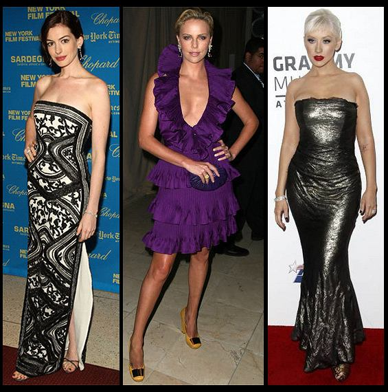 Anne Hathaway/Charlize Theron/Christina Aguilera