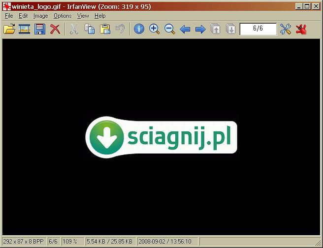 IrfanView wersja 4.23 - darmowa przeglądarka plików graficznych i zdjęć cyfrowych.