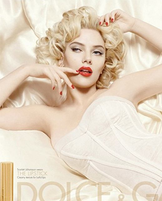 Scarlett Johansson dla Dolce 2009