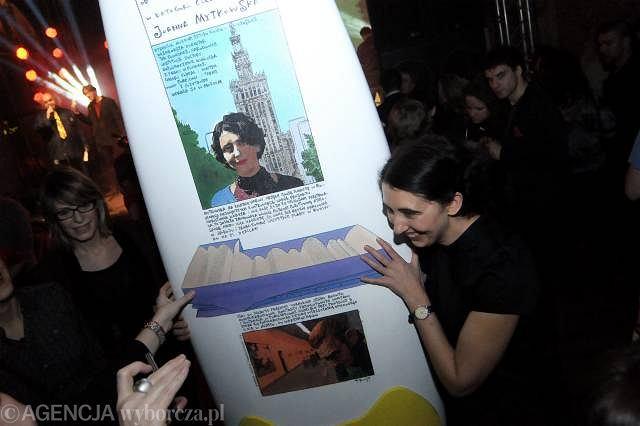 Wdechy 2008: Joanna Mytkowska - Człowiek Roku 2008 / Fot. Filip Klimaszewski / AG