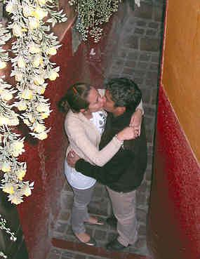 Randki online pierwszy pocałunek
