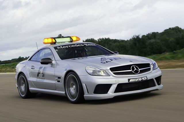 Mercedes SL 63 AMG Safety Car