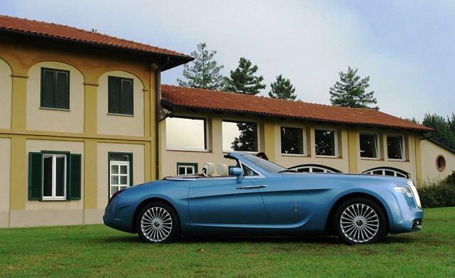 Rolls-Royce Hyperion zbudowany przez studio Pininfarina