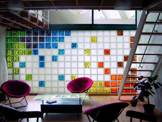 Luksfery. Ściany z pustaków szklanych