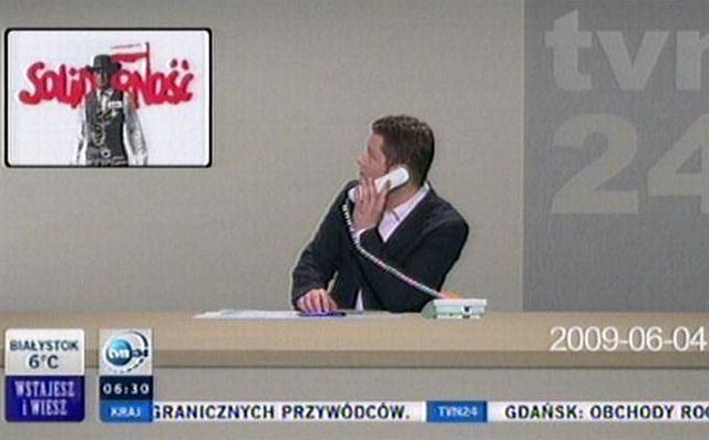 Poranek w TVN24 po metamorfozie, 04.06.2009 - fot. TVN24
