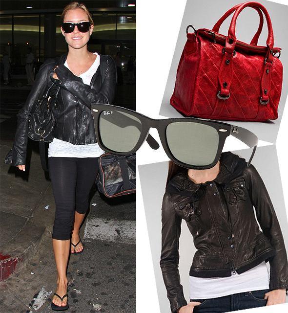 Kristin Cavallari fot. forum/ revolveclothing.com/ unitedshades.com
