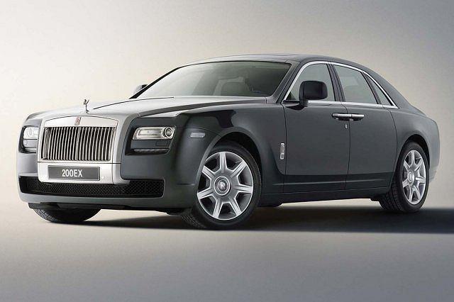 Koncepcyjny Rolls-Royce 200EX