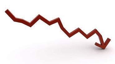 Spadek inwestycji