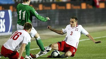 Mecz Polska - Irlandia Północna. Paweł Golański