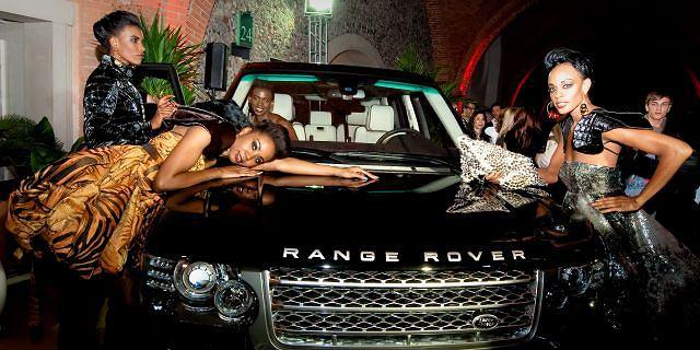 Range Rover na pokazie Jungle Obsession