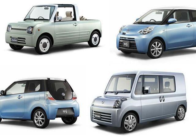 Podczas salonu samochodowego w Tokio Daihatsu pokaże trzy ciekawe koncepty: Deca Deca, Basket i e:S