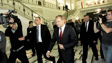 Donald Tusk ma dziś zorganizować posiedzenie klubu PO