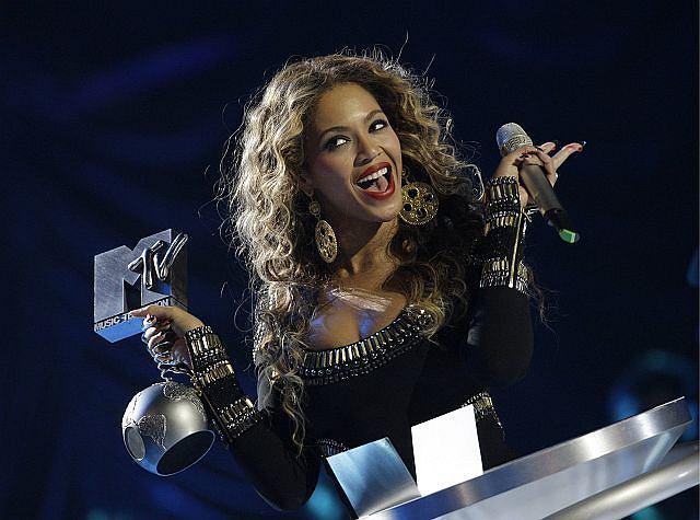 Beyonce z nagrodą.