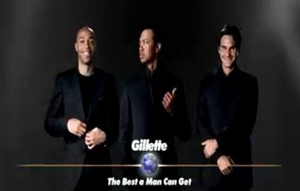 Reklama Gillette