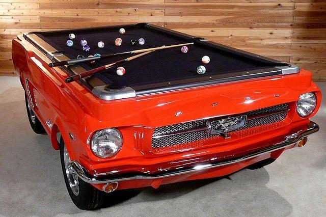 Stół bilardowy na licencji Mustanga