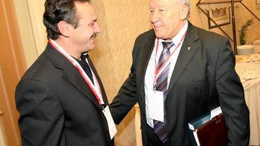 Jan Furtok z Wojciechem Łazarkiem