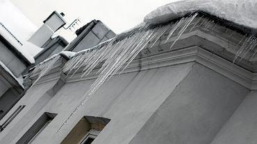Sople na dachu