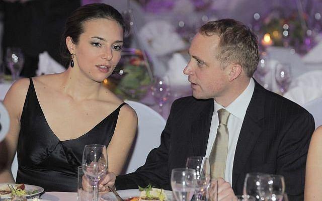 Piotr Adamczyk i Anna Czartoryska.