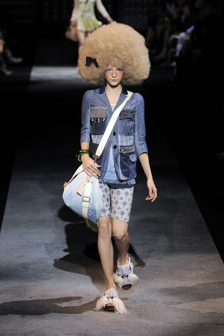 Projekt: Louis Vuitton (wiosna/lato 2010)