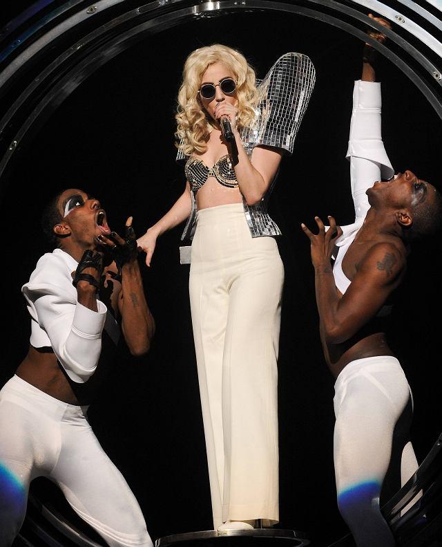 Lady GaGa na koncercie w Nowym Jorku
