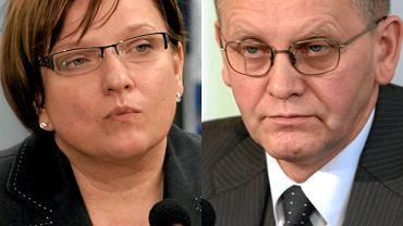 Beata Kempa i Mirosław Sekuła