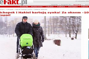 Marcin Hakiel i Kasia Cichopek.Efakt.pl