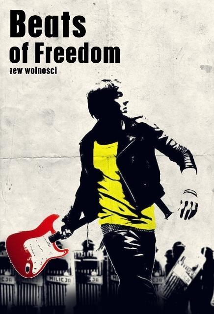 Beats of freedom - zew wolności - plakat