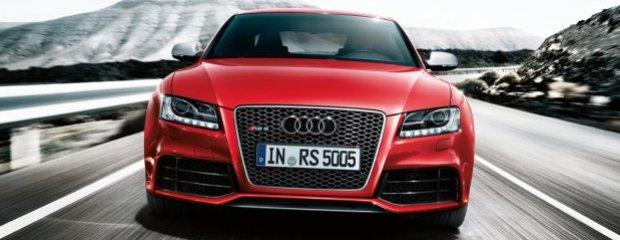 Audi RS5 - test | Za kierownicą