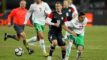 Mecz Polska - Bułgaria w marcu 2010 roku - jedyne spotkanie reprezentacji rozegrane na Polonii