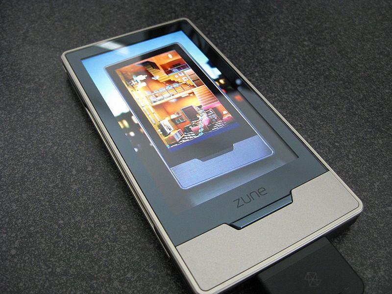 Microsoft Zune HD. Jego następca, Zune HD2, posiadać będzie już system Windows Phone 7
