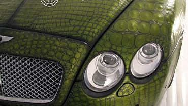 Bentley Suitcase Croco