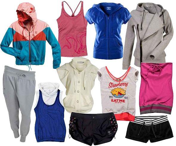 Sportowe ubrania na wiosnę