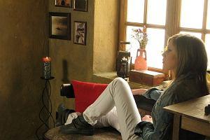 Ala Boratyn na planie teledysku do piosenki SMS