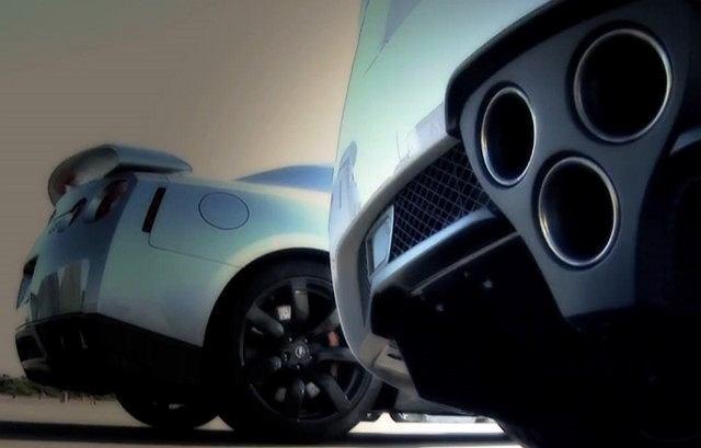Nissan GT-R vs Lexus LFA