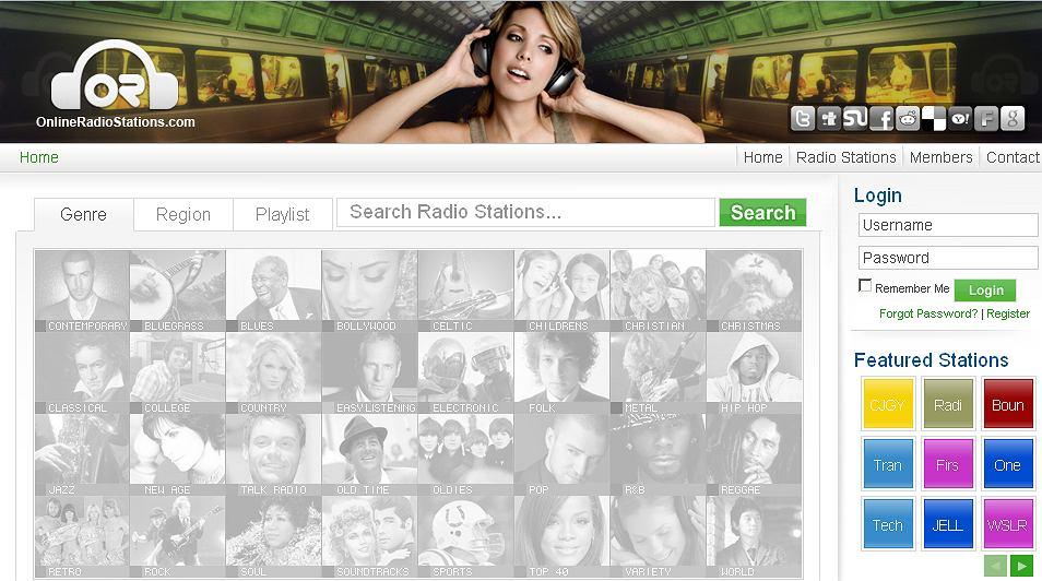 Onlineradiostations