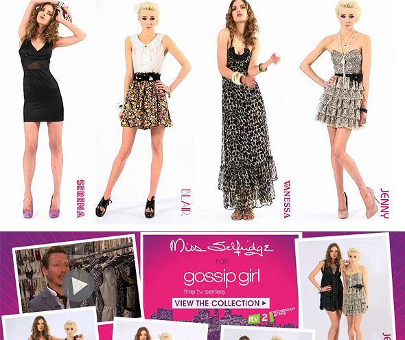 Kolekcja Miss Selfridge Gossip Girl
