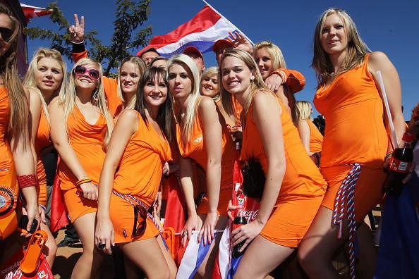 MŚ 2010. Holenderki w strojach od Bavarii