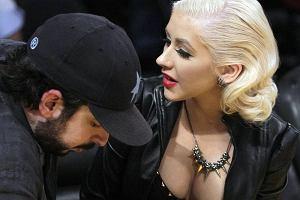 Christina Aguilera razem ze swoim mężem Jordanem Bratmanem