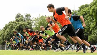 Pierwszy trening piłkarzy Legii w nowym sezonie