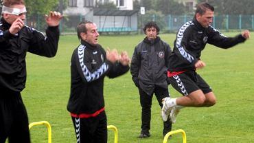 Jose Maria Bakero na treningu