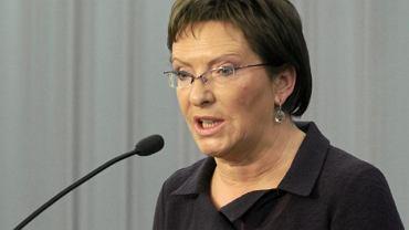 Ewa Kopacz (PO) dostała się do Sejmu z najwyższym wynikiem spośród kandydatów z Radomia