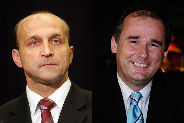 Kazimierz Marcinkiewicz i Paweł Zalewski