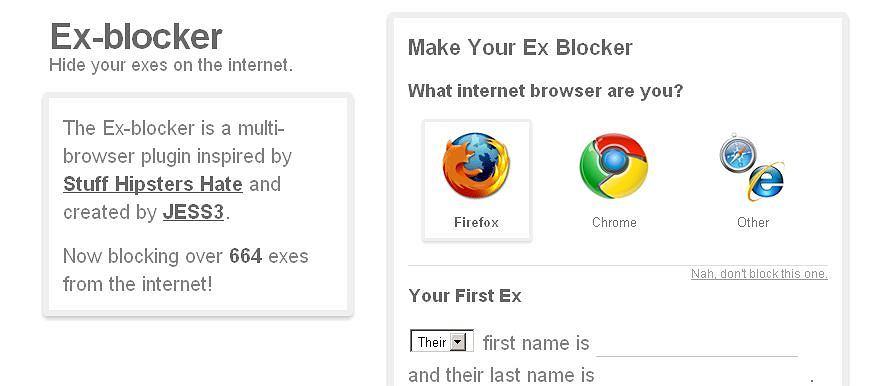 Ex-blocker - wtyczka, która