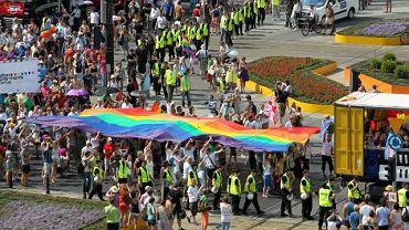 Parada EuroPride na ulicach Warszawy, 2010