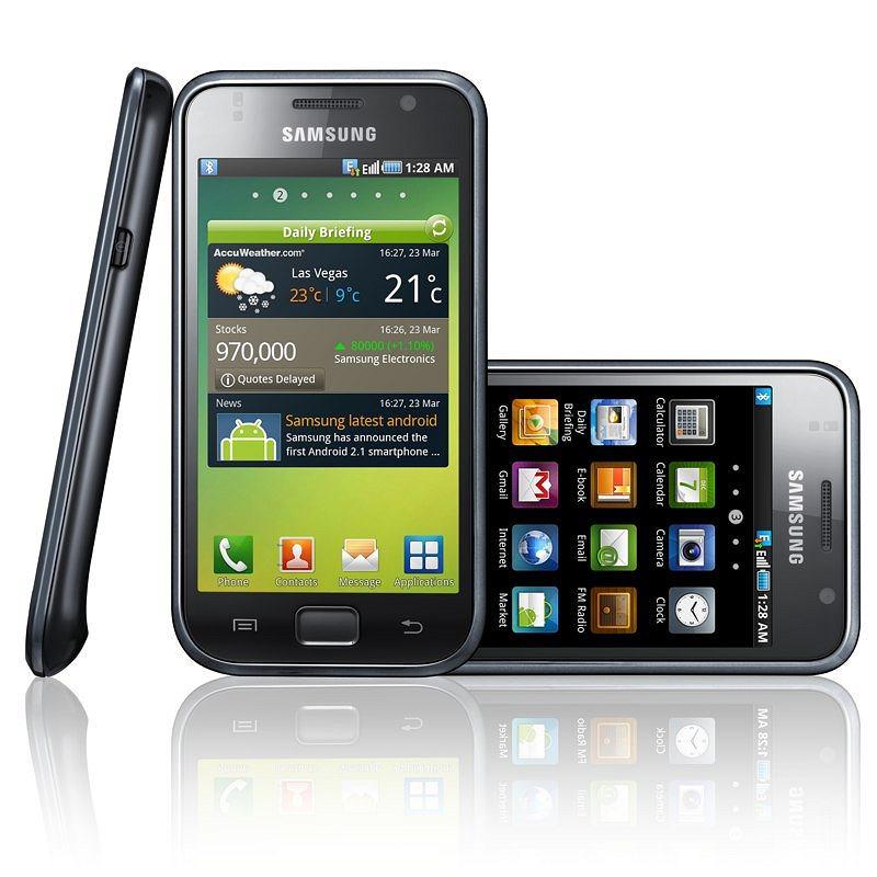 Samsung i9000 Galaxy S pracujący na Androidzie