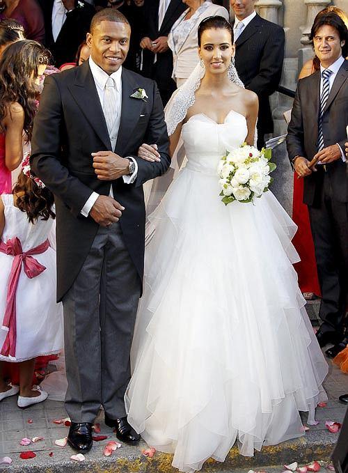 Julio Baptista ożenił się!