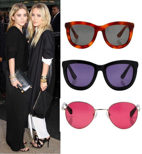 Okulary przeciwsłoneczne z kolekcji sióstr Olsen