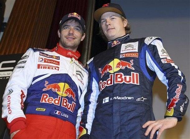 Sebastien Loeb i Kimi Raikkonen