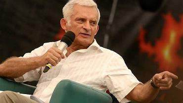 Jerzy Buzek w ASP Przystanku Woodstock