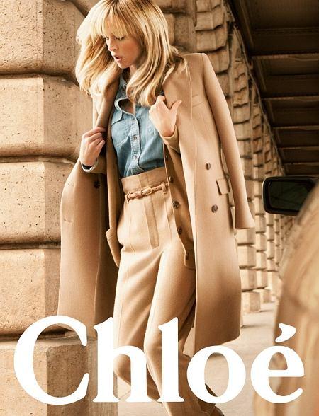 Kampania Chloe na jesień/zimę 2010/2011 - modelka Raquel Zimmermann zdjęcia Inez